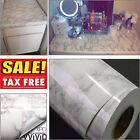 Grey Granite Look Marble Effect Vinyl Film Self Adhesive Contact Paper 1 Roll