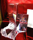 NEW in RED BOX STEUBEN glass PRISM CRYSTAL ornamental paperweight rock quartz