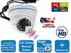960P HD TVI AHD CVI Analog Day Night Vision Indoor Outdoor CCTV Security Camera