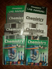 Abeka 11th Grade Chemistry Lot Of 8 Teachers  Students No Missing Page Writing