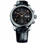 Louis Erard Men's Heritage 40mm Leather Band Automatic Watch 78269AA02.BDC02