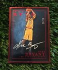 2015-16 Panini Luxe Kobe Bryant Red Metal Frame Auto Autograph #ED 25 WOW