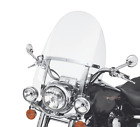 Detachable Windshield For Harley Touring Road King FLHR with Bracket 1994 2018