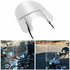 Detachable Windshield For Harley Touring Road King FLHR with Bracket 1994 2020