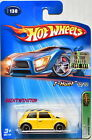 HOT WHEELS 2005 TREASURE HUNT MORRIS COOPER 130 FACTORY SEALED W+