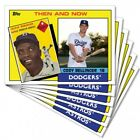 TBT SET 26 ASTROS & DODGERS, THEN & NOW 1984 TOPPS BASEBALL FATHER & SON DESIGN