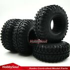 4pc RC Crawler 1.9'' Tires 114mm Tyre Fit RC 4WD Axial & other Crawler 1.9 Wheel