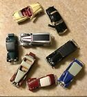 8 Diecast Model Cars Either Anson Signature Ford Motor brands All Included