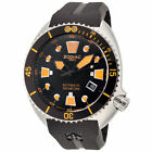 Zodiac Men's ZO8012 Oceanaire Swiss Automatic Watch Black Rubber Strap