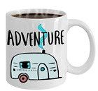Camp Trailer RV Coffee Mug Adventure Camper Coffee Cup Gift For Camper