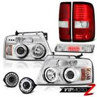 2006-2008 Ford F150 XLT Foglamps Roof Cab Light Tail Lamps Headlamps Angel Eyes