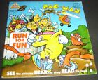 Pac-Man Run For Fun Kid Stuff Book and Record KSR 995 1980