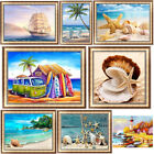 Beach View 5D Diamond Painting DIY Embroidery Cross Stitch Home Decor Holiday