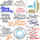 Happy Day Cutting Dies Stencil DIY Letter Scrapbooking Album Card Embossing Gift