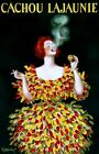 French Cachou Lajaunie Candy Vintage Poster Reproduction