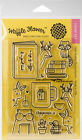Waffle Flower Crafts Clear Stamps 4X6 Books  Coffee Part 271132 by Waffle F