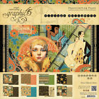 Graphic 45 Double Sided Paper Pad 12X12 24 Pkg Vintage Hollywood 8 Designs 3