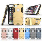 2in1 Armor Heavy Duty Shockproof Stand Phone Cover Case FOR iphone 5S 6 7/8 X C