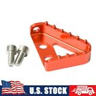 CNC Brake Pedal Plate Tip with Bolts For KTM 125-530 SX XCW EXC-F XCF-W 690 950