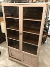 Glass Kitchen Cabinet Pantry Cupboard