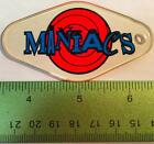Genuine ROLLERGAMES MANIACS Pinball Promo Plastic Williams Keychain NOS Fob   D8