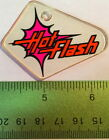 Genuine ROLLERGAMES HOT FLASH Pinball Promo Plastic Williams Keychain NOS Fob D6