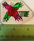 Genuine ROLLERGAMES  BAD ATTITUDE Pinball Promo Plastic Williams Keychain NOS D7
