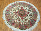 Wool Traditional Round Rug Multi Colored Size 5' Ft By 5' Ft