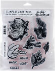 Tim Holtz Cling Stamps 7X85 Christmas Classic Part CMS 322 by Stampers Anon