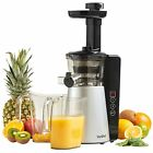 VonShef Digital Slow Masticating Juicer Machine with 2 Speeds, Reverse Function,