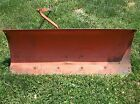 VINTAGE JACOBSEN 42 INCH DOZER BLADE PLOW for LAWN TRACTOR RIDING MOWER