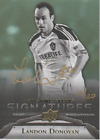 Landon Donovan 2012 UD All-Time Great Signatures autograph auto card GA-LD1 20
