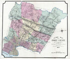 1877 Map of Essex County New Jersey Caldwell