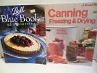 LOT Ball Blue Book of Preserving Sunset Canning Freezing Drying Pickling Smoking