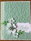 Stampin Up Spring Flowers Textured Impressions Embossing Folder NIP Retired