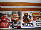 SMOKEY BEAR CLASSIC POSTERS PICK 1 FROM 7IN DOOR OUT DOOR POSTERS