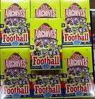 SEVEN (7) 2013 Topps Archives Football Factory Sealed Hobby Boxes 2 Auto Box