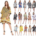 Plus Size Tunic Tops beachwear Caftan short beach cover-Up Boho tunics for Women