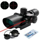 Beileshi Rifle Scope Red Dot Tactical 25 10x40 Red Laser Sight Dual Illuminated