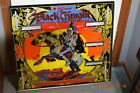 VTG. BLACK KNIGHT PINBALL BACK GLASS  ARCADE JUKEBOXES MACHINE COIN OP