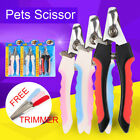 Pet Nail Clippers Claw Toe Paw Trimmer Scissor Grooming Tool for Dogs