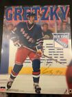 Wayne Gretzky New York Rangers Signed Autographed Photo Board Starline 1999