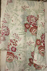 Antique French printed cotton large scale BEAUTIFUL design fabric material