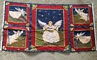 Christmas In Your Heart fabric panel Robin Betterley South Sea Imports new