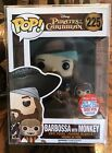Funko Pop Disney Pirates Of The Caribbean BARBOSSA with MONKEY 2016 NYCC Figure