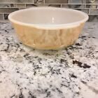 VINTAGE FIRE KING CASSEROLE IN THE PEACH LUSTER COLOR 2QT