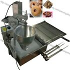 7.5L Commercial Use Manual Donut Ball Doughnuts Machine Maker Fryer with 3 Mold
