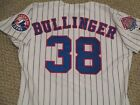 Kirk Bullinger 38 SZ 46 1998 Montreal Expos Game used jersey Home White 2 patch