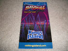 2014 Kings Island Cincinnati Ohio Park Guide Brochure w foldout MAP LK