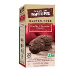 Back To Nature Dark Chocolate Cherry Brownie Cookies, 8 Ounce -- 6 per case.